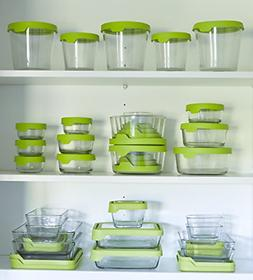 Anchor Hocking TrueSeal Glass Storage Containers 4-3/4 Cup