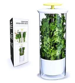 Breathable Fresh Herb Keeper and Herb Storage Container by N