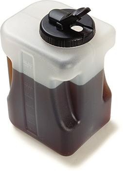 Carlisle 640000 Plastic Container / Jug with Lid, 1 Gallon