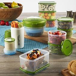 Fit & Fresh Perfect Portion Kit, Value Set Includes Reusable
