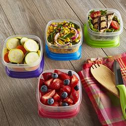 Fit & Fresh Stak Pak Portion Control 1-Cup Container Set,  4