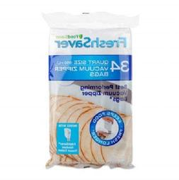 FoodSaver FreshSaver Quart-sized Vacuum Zipper Bags 34ct