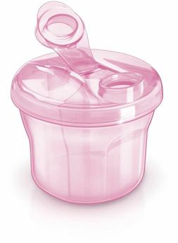 Philips AVENT Powder Formula Dispenser and Snack Cup, Pink