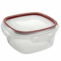 Rubbermaid 1778068 5 Cup Square Lock-It Container Pack Of 6