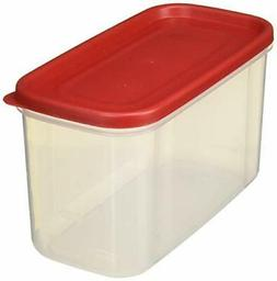 Rubbermaid 711717430423 10-Cup Dry Food Container , 1, Clear