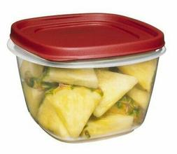 Rubbermaid Easy Find Lids Square 7-Cup Food Storage Containe
