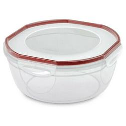 STERILITE Rocket Red Sterilite Plus Ultra Seal Latching Bowl