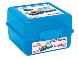 Sistema Lunch Collection Lunch Cube Food Storage Container,