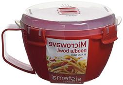 Sistema Microwave Collection Noodle Bowl, 31.7 oz./0.9 L, Re