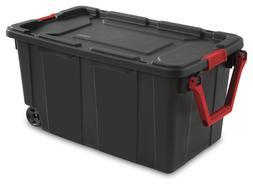 Sterilite 14699002 40 Gallon/151 Liter Wheeled Industrial To