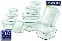 Airtight Anti-Spill Proof Tempered Glasslock Storage Contain