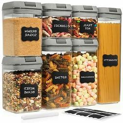 Shazo Airtight Container Set for Food Storage - 7 Piece Set