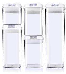 Airtight Food Storage Container Set of 5 by CooksBestStuff -