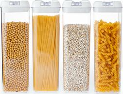 Airtight Food Storage Container made by Durable BPA-free Pla