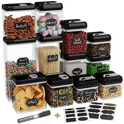 Chef's Path Airtight Food Storage Container Set - 12 PC Set
