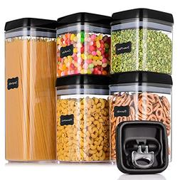 ME.FAN Large Airtight Food Storage Container Set  - Pantry D