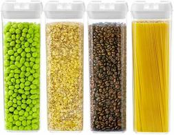Airtight Food Storage Container set of 6 made by Durable BPA