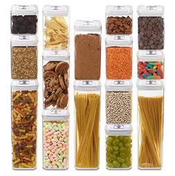 Airtight Food Storage Containers with Lids - 15 Pack - BPA F