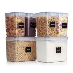 Vtopmart Airtight Food Storage Containers 6 Pieces - Plastic
