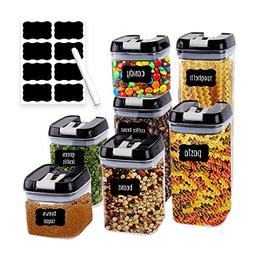 Airtight Food Storage Containers for Pantry Organization and