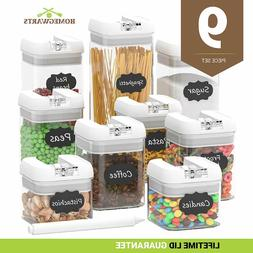 Airtight Food Storage Containers - Airtight Container Set wi