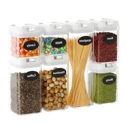 Airtight Food Storage Containers jars,7 Pieces, BPA free, Im