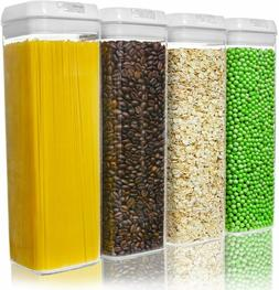 Airtight Food Storage Containers Kitchen Organizer Cereal Co