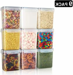 Airtight Food Storage Containers Kitchen Organizer Plastic B