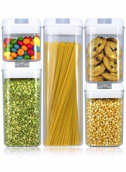 Balchy Airtight Food Storage Containers Set, 5 pieces BPA Fr