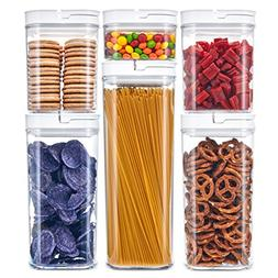 DuraHome Airtight Food Storage Containers 6 Piece Set - BPA