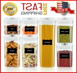 Airtight Food Storage Containers Set, Vtopmart 7 Pieces BPA