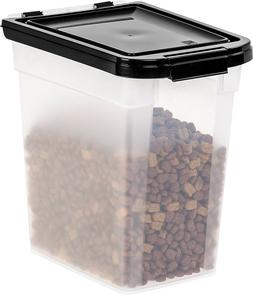 Airtight Pet Food Storage Container Snap Lock Dry Food Dog C