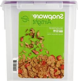 Snapware Airtight Plastic 23-Cup Fliptop Food Storage Contai