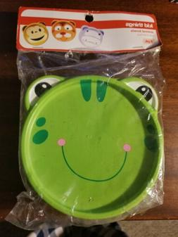 Animal Bowls Frog Face With Lids Plastic Food Container Craf