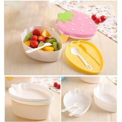 Attractive Cartoon Shape Lunch Box Food Container Storage Bo