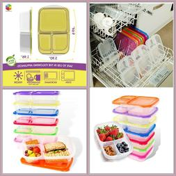 Bento 7pck Lunch Box Microwave, Freezer, Dishwasher Safe Foo