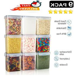 Plastic Food Storage Containers With Lids Airtight Bpa Free