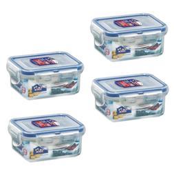 Best Pack Food Storage Organization Sets of 4 Airtight Recta