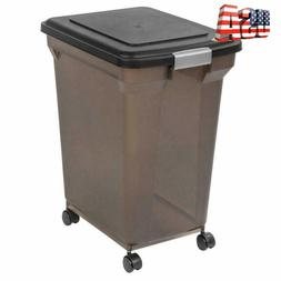 Best Pet Large Storage Container Bin For Food Dog With Wheel