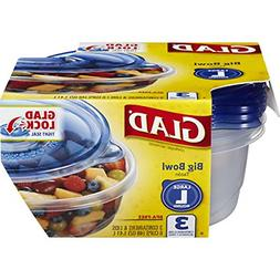 GladWare Big Bowl Containers with Lids, Round Size, 6 Cups 3