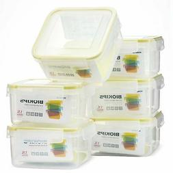 Komax Biokips Square Food Storage Container 37oz.  - Airtigh