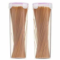 Komax Biokips Tall Food Storage Spaghetti Noodle / Pasta Con