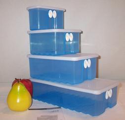 Tupperware BLUE FridgeSmart ~You CHOOSE Size ~NLA Fridge Sma