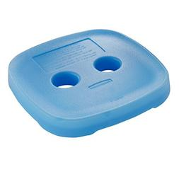 Rubbermaid Blue Ice for Easy Find Lid Containers, Medium