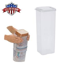 Bread Keeper Holder Dispenser Travel Sandwich Bread Box Crus