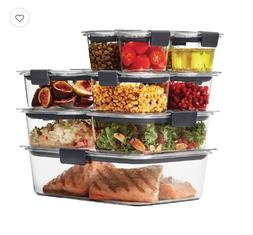 Rubbermaid Brilliance 22-piece Food Storage Container Set Or