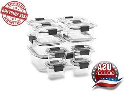 Rubbermaid Brilliance 22-piece Food Storage Container Set Fr