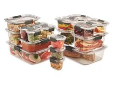 Rubbermaid Brilliance 36-piece Food Storage Container Set Or