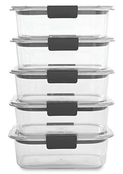 Rubbermaid Brilliance Food Storage Container, BPA-free Plast