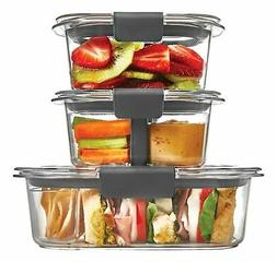 Rubbermaid Brilliance Food Storage Container, Sandwich and S